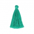Tassel imitation silk 40 mm Emerald
