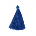 Tassel imitation silk 40 mm Electric Blue