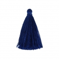Tassel imitation silk 40 mm Royal Blue