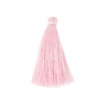 Tassel imitation silk 40 mm Baby Pink