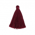 Tassel imitation silk 40 mm Raspberry