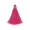 Tassel imitation silk 40 mm Fuchsia