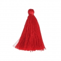 Tassel imitation silk 40 mm Red