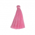 Tassel imitation silk 40 mm Pink