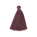 Tassel imitation silk 40 mm Mauve