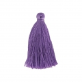Tassel imitation silk 40 mm Violet