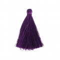 Tassel imitation silk 40 mm Purple