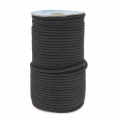 Braided cord macrame 3 mm Black x 45 m