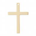 Cross charm 26 mm - 14Kt Gold-filled x1