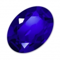 Swarovski 4120 Oval Fancy Stone 14x10 mm Majestic Blue x1