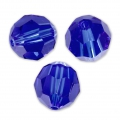 Swarovski 5000 round 10 mm Majestic Blue x1