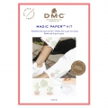 Kit DMC - Cross stitch embroidery - Magic Paper - Cactus