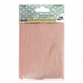 Hotfix fabric coupon 12x30 cm - Glitter Rose Gold x1