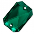 Cabochon Emerald Cut 3252 14X10 mm Emerald x1