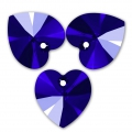 Swarovski 6228 Hearts 10,3x10 mm Majestic Blue x6