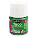 Opaque acrylic decorative paint - Deco Pearl by Pébéo - Dark Green nr 118 x 45ml