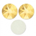 Swarovski stick-on rhinestones 1,8 mm Crystal Metallic Sunshine x36