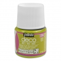 Opaque acrylic decorative paint - Deco Matt by Pébéo -  Anis nr 084 x 45ml