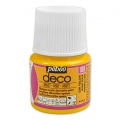 Opaque acrylic decorative paint - Deco Matt by Pébéo - Sun Yellow nr 108 x 45ml