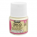 Opaque acrylic decorative paint - Deco Matt by Pébéo - Cream nr 116 x 45ml