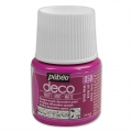 Opaque acrylic decorative paint - Deco Matt by Pébéo -  Vivid Pink nr 058 x 45ml