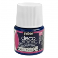Opaque acrylic decorative paint - Deco Matt by Pébéo - Navy Blue nr 079 x 45ml