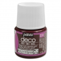 Opaque acrylic decorative paint - Deco Matt by Pébéo - Burnt Umber nr 074 x 45ml
