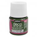 Opaque acrylic decorative paint - Deco Matt by Pébéo - Forest Green nr 049 x 45ml