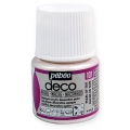 Opaque acrylic decorative paint - Deco Pearl by Pébéo - Pearl of Silk nr 101 x 45ml