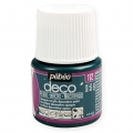 Opaque acrylic decorative paint - Deco Pearl by Pébéo - Blue nr 112 x 45ml