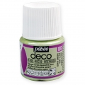 Opaque acrylic decorative paint - Deco Pearl by Pébéo - Light Green nr 106 x 45ml