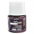Fantasy Moon paint by Pébéo - Hammered effect - Chocolate (nr 34) x45ml