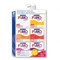 Kit of 6 Fimo Soft Polymer clay loafs of 57 gr - Summer Colours x1