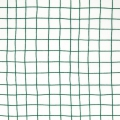 Cotton fabric - Hygge - Checks - White/Green x10cm