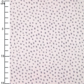 Cotton fabric - Hygge -  Metalized Dots - Lilac x10cm