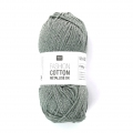 Wool Fashion Cotton metallic Rico Design Titanium 011 x 50g