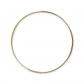 Mounting round element for beadweaving 45 mm European made - Gold Tone x1