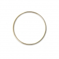 Mounting round element for beadweaving 35 mm European made - Gold Tone x1