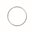 Mounting round element for beadweaving 35 mm European made - Rose Gold Tone x1