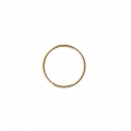 Mounting round element for beadweaving 20 mm European made - Gold Tone x1