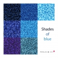 Kit Miyuki By Perles & Co - Assortment of Miyuki Delicas 11/0 SHADES OF BLUE