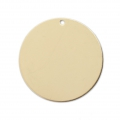 Round sequin / charm 22 mm- 14Kt Gold-filled x1