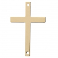 Thin cross spacer 2 holes 33xx21 mm- 14Kt Gold-filled  x1