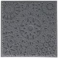 Clay Texture sheets for polymer clay - 9 cm Mandala x1