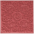 Clay Texture sheets for polymer clay - 9 cm Smiling x1
