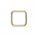 14K Gold filled Closed Square jumpring 8 mm x1