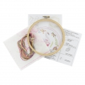 Embroidery kit - Artisanal French manufacture - Simone the unicorn x1