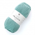 Vegan wool Creativ Silky Touch dk - Rico Design - Turquoise 006 x 100g
