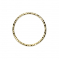 Closed diamond ring 16 mm 14 Kt Gold-filled x1