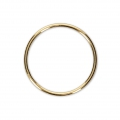 Closed ring 20 mm 14Kt Gold-filled x1